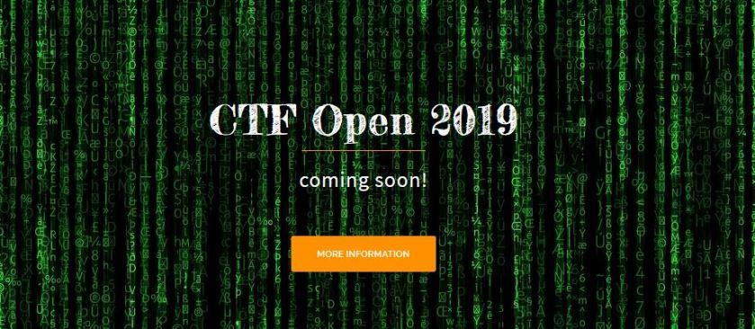 CTF Open 2019